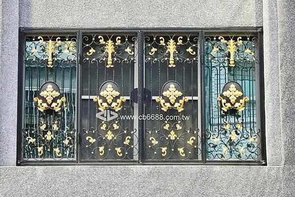 段造鐵窗-防盜窗B1-6002