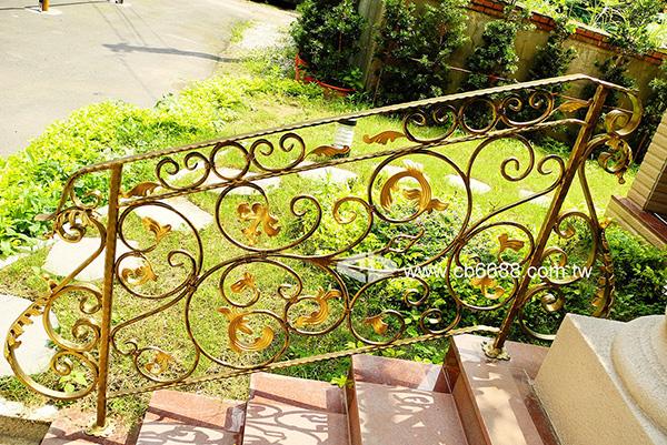 室外鍛造樓梯扶手 C2-6002
