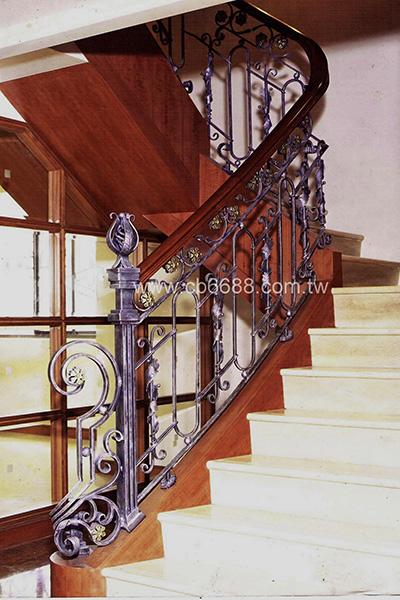 室內鍛造樓梯扶手 C1-6004